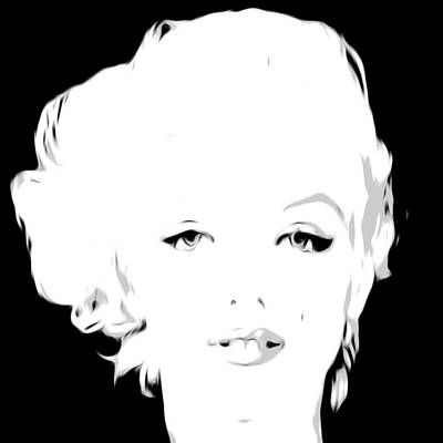 Digital Art - Marilyn Monroe 4 by Lisa Piper