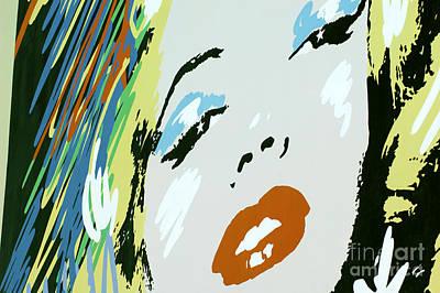 Marilyn Monroe 6 Art Print by Micah May