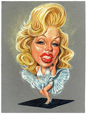 Marilyn Monroe Art Print by Art