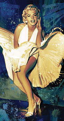 Marilyn Monroe Artwork 4 Art Print