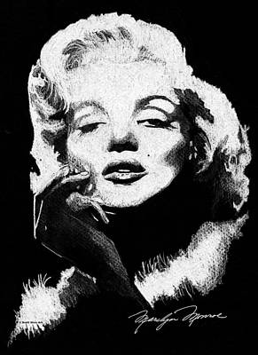 Painting - Marilyn Monroe by Brett Winn