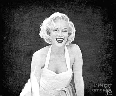 Photograph - Marilyn Monroe By Mindy Jo by Mindy Bench