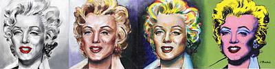 Marilyn Monroe Original by Charles  Bickel