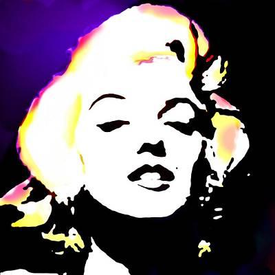 Woman Digital Art - Marilyn Monroe by Cindy Edwards
