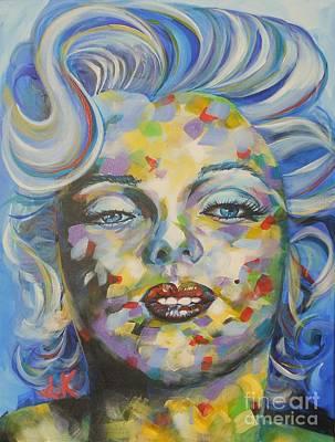 Marilyn Monroe Painting - Marilyn Monroe by David Keenan