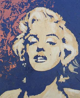 Bobmarley Painting - Marilyn Monroe by David Shannon
