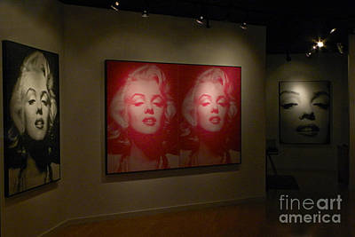 Of Painter Photograph - Marilyn Monroe Gallery by Ron Sanford
