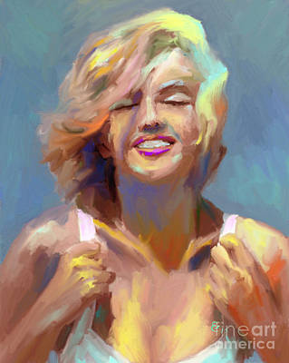 Mixed Media - Marilyn Monroe by GCannon