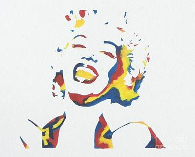 Painting - Marilyn Monroe by Juan Molina
