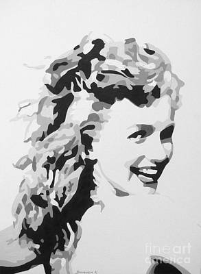 Painting - Marilyn Monroe by Katharina Filus