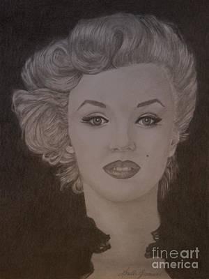 Drawing - Marilyn Monroe by Lorelle Gromus