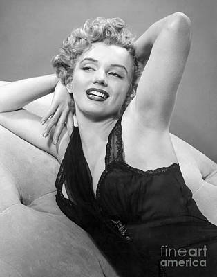 Marilyn Monroe Print by MMG Archives