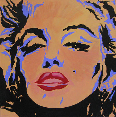 Painting - Marilyn Monroe-sultry by Bill Manson