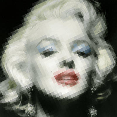 Painting - Marilyn Monroe by Tony Rubino