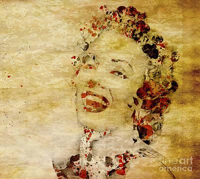 Painting - Marilyn Monroe Vintage by Debra Crank