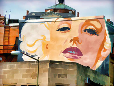 Photograph - Marilyn Mural by Alice Gipson