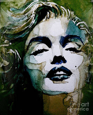 Actors Wall Art - Painting - Marilyn No10 by Paul Lovering