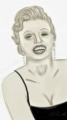 Marilyn  Print by Pat Carafa
