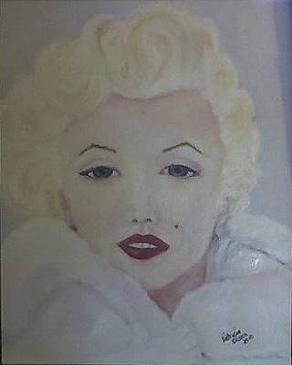Painting - Marilyn by Patricia Olson