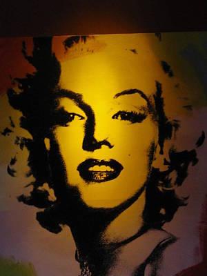 Marilyn Art Print by Shawn Hughes