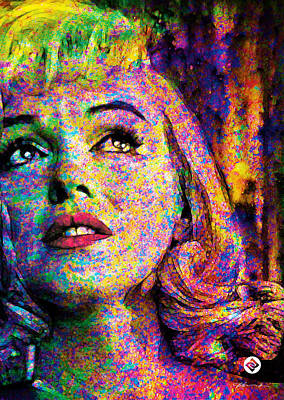 Painting - Marilyn Too by David Davies