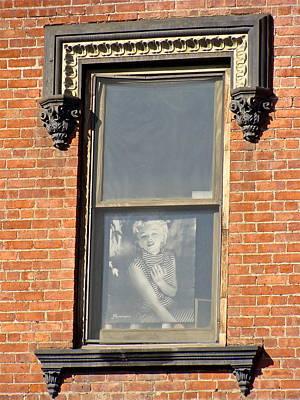 Marilyn Visits Elvis Original by Ira Shander