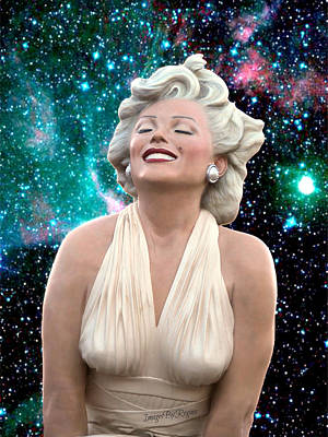 Photograph - Marilyn's Cosmos by Regina Arnold
