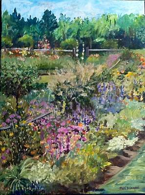 Marilyn's Garden Print by Patti Campbell