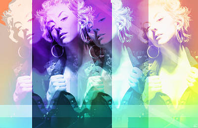 Marilyns Pride Art Print by Starlux  Productions