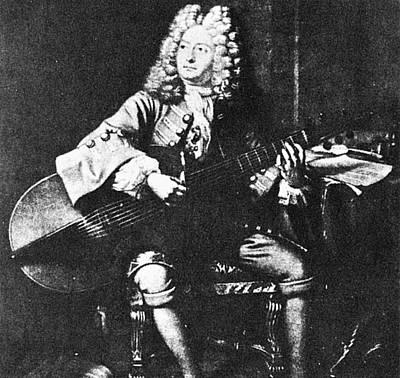 Marin Marais (1656-1728) Art Print by Granger