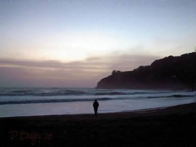 Realist Digital Art - Marin Sunset by David Badgley