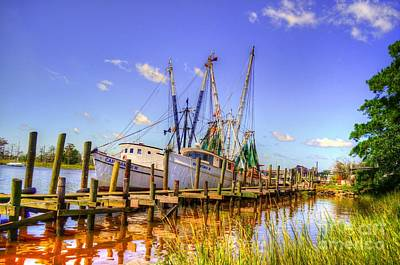Photograph - Marina At Georgetown by Kathy Baccari