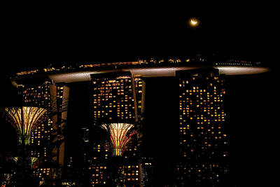 Photograph - Marina Bay Sands by Donald Chen