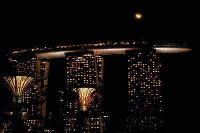 Photograph - Marina Bay Sands by Donald Chen