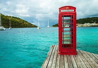 Photograph - Marina Cay Telephone 2 by Wendy Gunderson