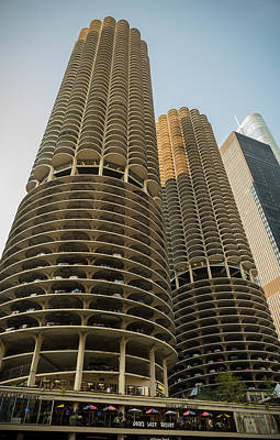 Marina City Chicago Original by Steve Gadomski