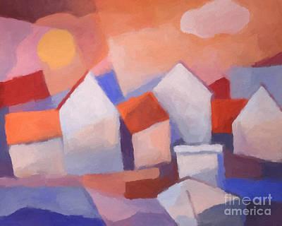 Painting - Marina Cubic by Lutz Baar