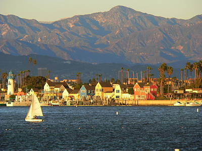 Photograph - Marina Del Rey California by Jeff Lowe