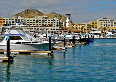Photograph - Marina In Cabo San Lucas by Kirsten Giving