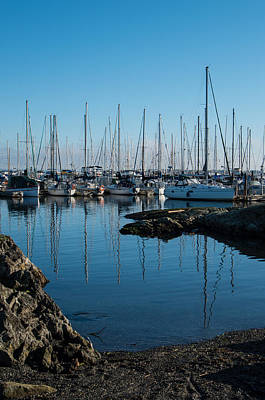 Photograph - Oak Bay Marina by Marilyn Wilson