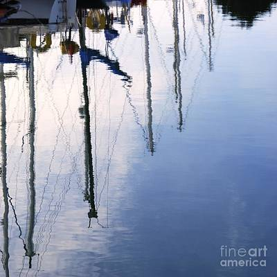 Photograph - Marina Mirrored by Wendy Wilton