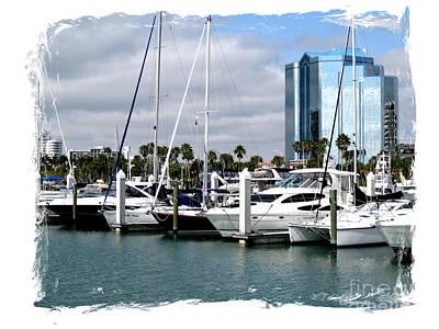 Photograph - Marina. Sarasota by Oksana Semenchenko