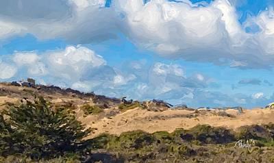 Digital Art - Marina State Beach Dunes Iv by Jim Pavelle