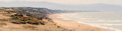 Digital Art - Marina State Beach - Marina Ca by Jim Pavelle