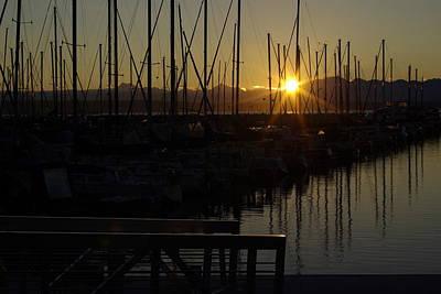 Photograph - Marina Sunset by Erin Kohlenberg