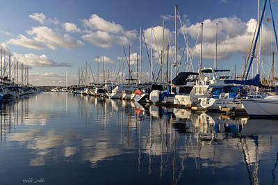 Photograph - Marina Tranquility by Heidi Smith