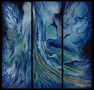 Painting - Marina Triptych by Lyn Pacificar