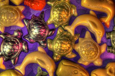 Photograph - Marine Beads by Richard J Cassato