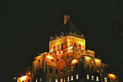 Photograph - Marine Building - Vancouver By Brian Chase by Brian Chase