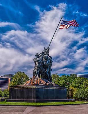 Photograph - Marine Corp War Memorial by Nick Zelinsky